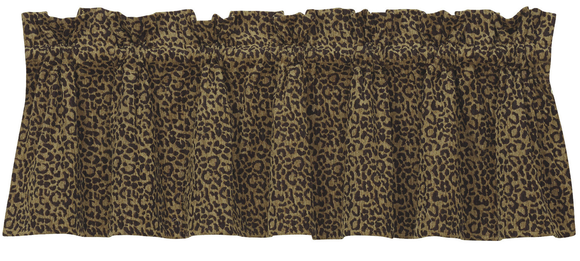 WS4287V2 - Leopard Valance - Western Bedding by HiEnd Accents