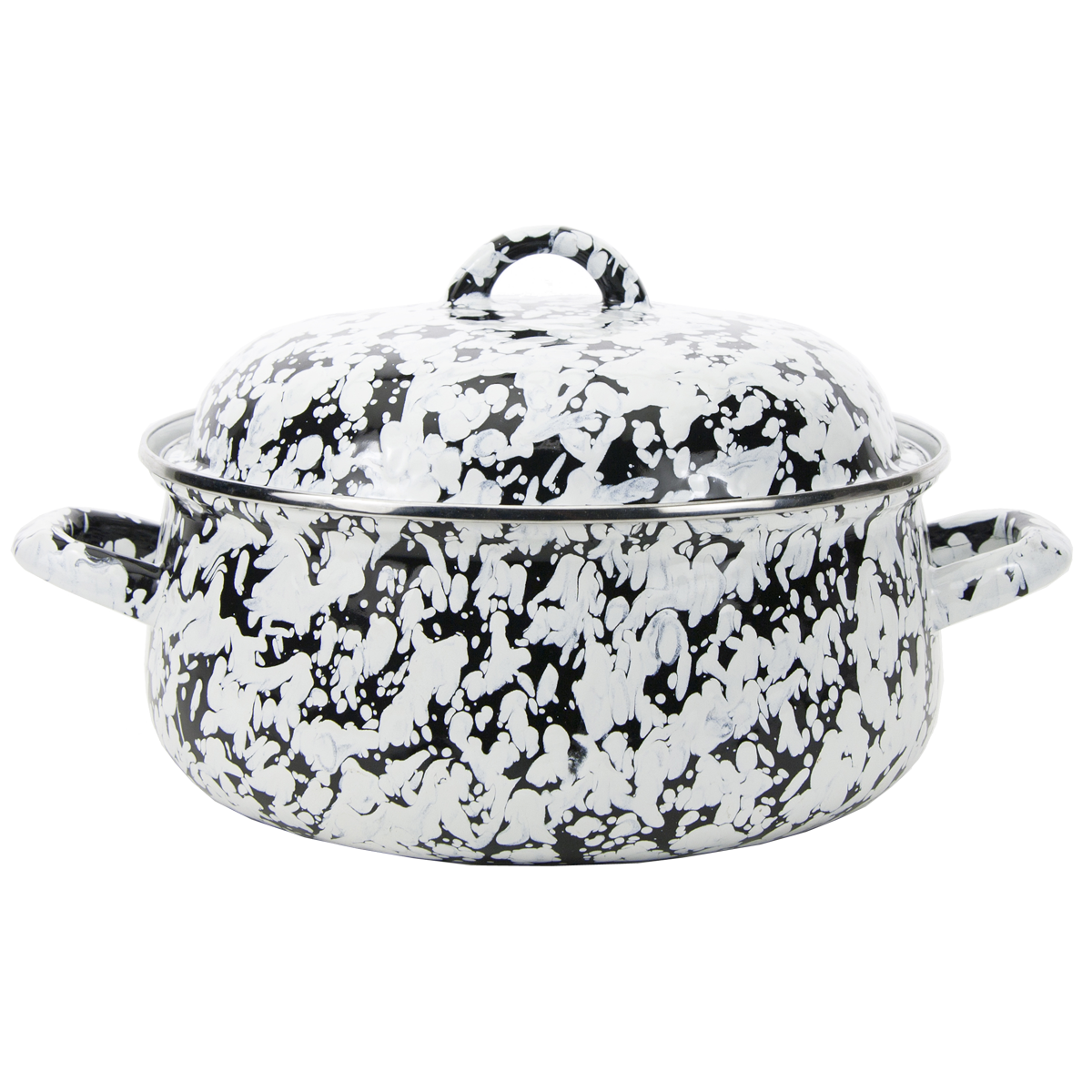 BL31 Black Swirl Dutch Oven