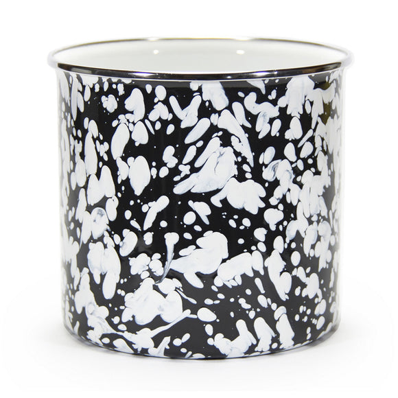 BL34 - Black Swirl Pattern - Utensil Holder