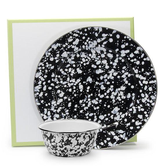 BL65 - Black Swirl Pattern - Dip Set
