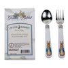 BP45 - Enamelware Peter Rabbit Baby Flatware Set