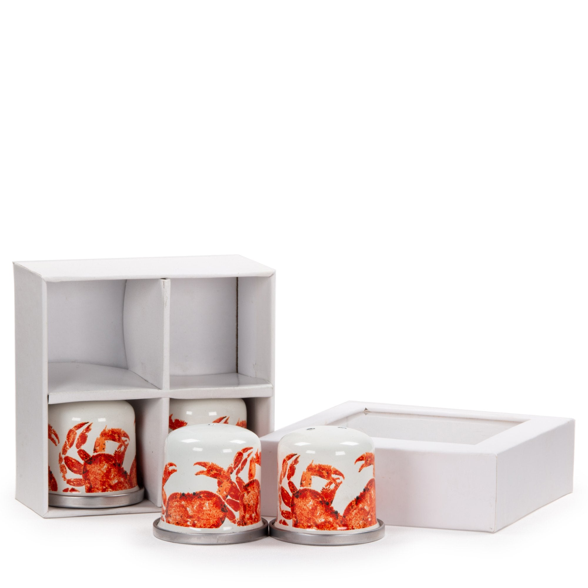CR37 - Crab House Pattern - Salt & Pepper