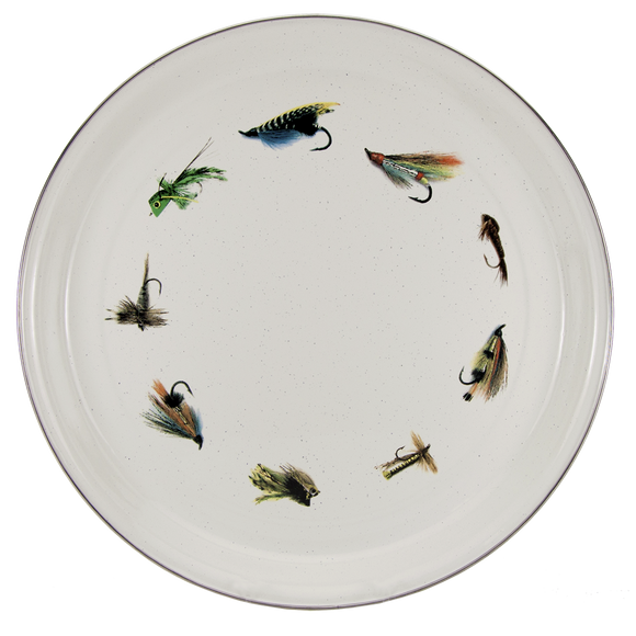 FF21 Fly Fishing Medium Serving Tray
