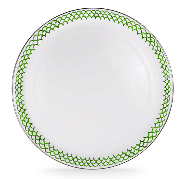GS01 - Green Scallop Large Tray Product 1