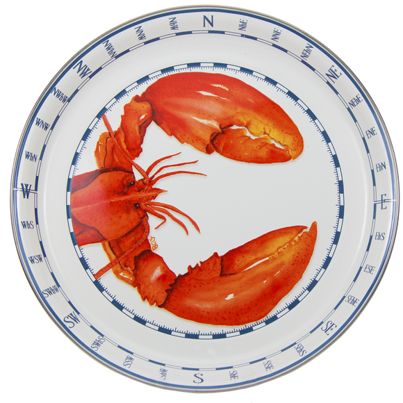 LS21 Lobster Medium Serving Tray