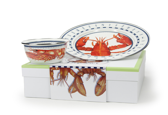 LS65 Lobster Dip Set Gift Box