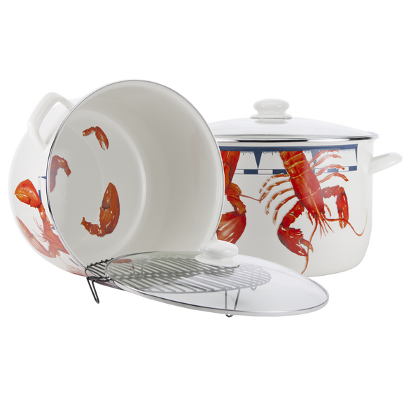 LS75 Lobster 18 Quart Stock Pot