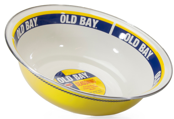 OB03 - Old Bay Pattern - Serving Basin by Golden Rabbit