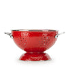 RR25 - Red on Red - Large 2 Quart Colander