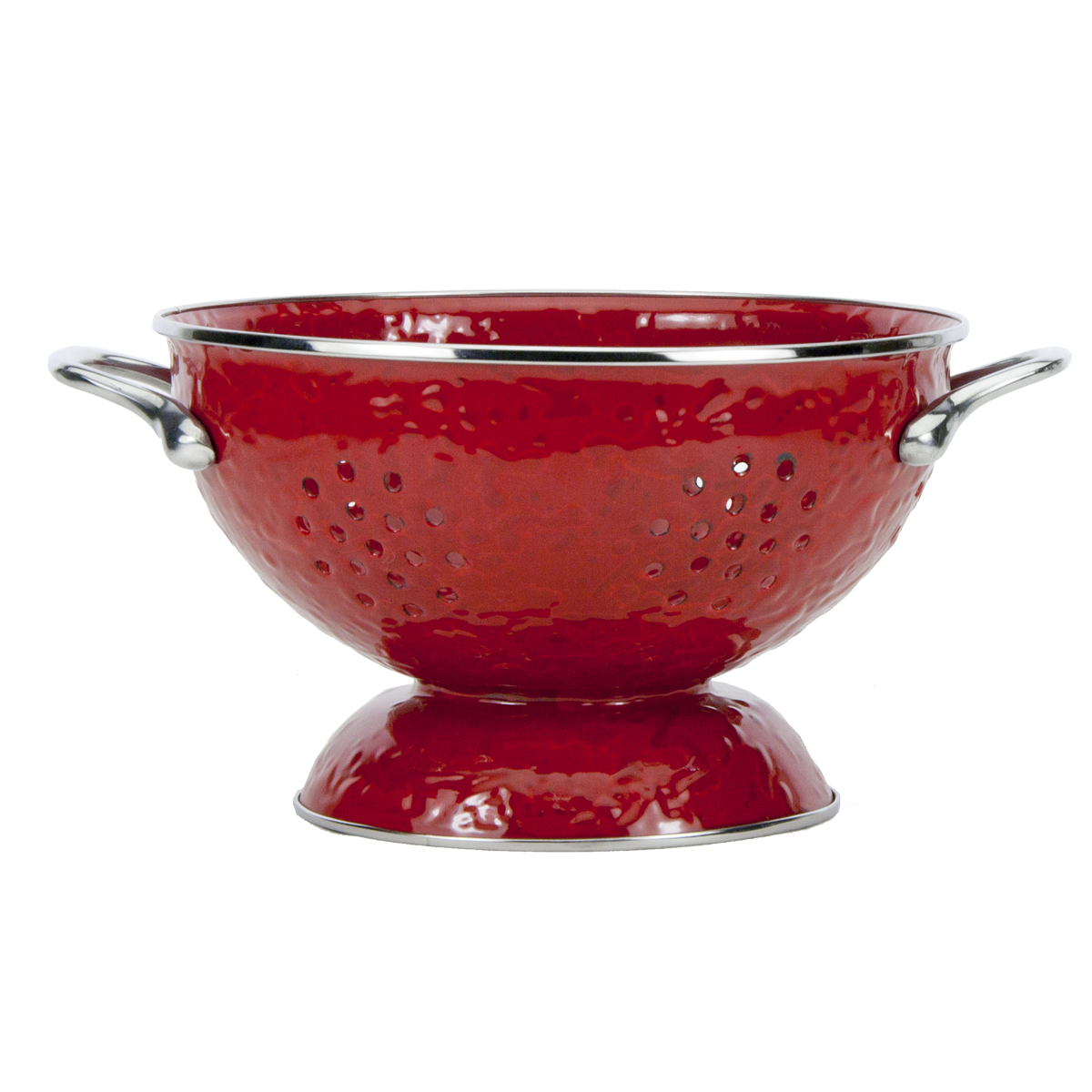 RR27 Solid Red Colander