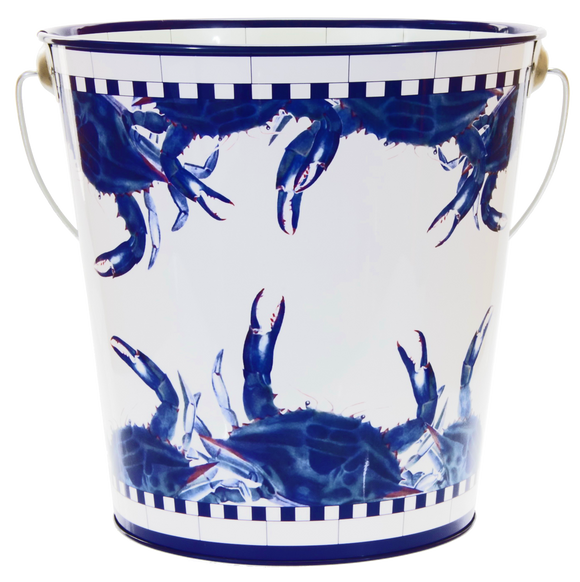 SE13  Blue Crab Large Pail