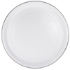 WW01 White on White Texture Large Serving Tray