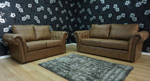 Load image into Gallery viewer, Chester 3 Seater & 2 Seater Formal Back Sofa Set