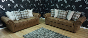 Granby 3 Seater & 2 Seater Sofa Set