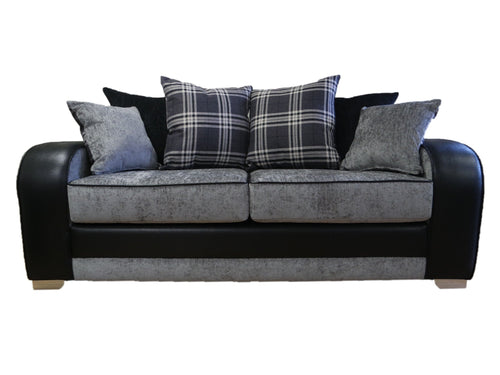 Tessa 3 Seater Pillow Back Sofa