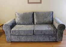 Load image into Gallery viewer, Barca Glitz Crushed Velvet 3 Seater Formal Back Sofa