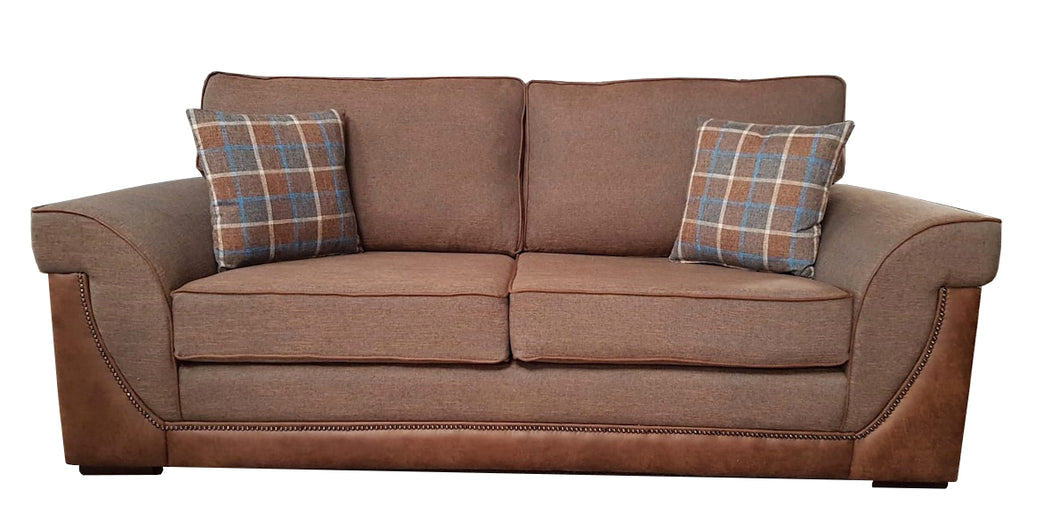 Ascot 3 Seater Formal Back Sofa