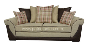 Ascot 3 Seater Pillow Back Sofa