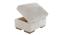 Load image into Gallery viewer, Strand Jumbo Storage Footstool