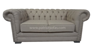 Classic Chesterfield 2 Seater Sofa