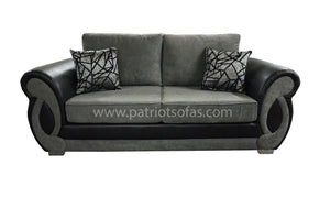 Chloe 3 Seater Formal Back Sofa Bed