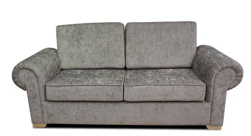 Angelica 3 Seater Formal Back Sofa Bed