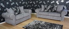 Load image into Gallery viewer, Angelica 3 Seater & 2 Seater Pillow Back Sofa Set
