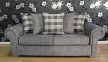 Load image into Gallery viewer, Angelica 3 Seater Pillow Back Sofa