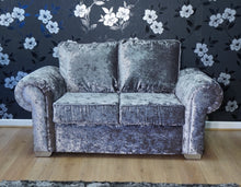 Load image into Gallery viewer, Angelica Glitz crushed velvet 2 Seater Formal Back Sofa