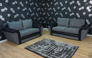 Mayfair 3 Seater & 2 Seater Formal Back Sofa Set
