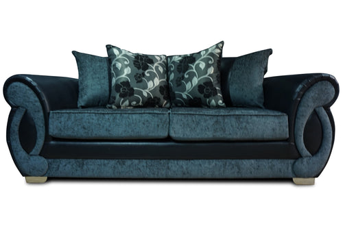 Chloe 3 Seater Pillow Back Sofa