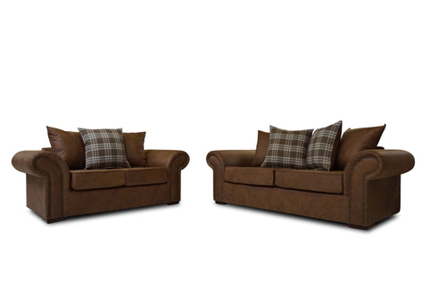 Highlander 3 Seater & 2 Seater Sofa Set