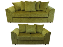 Load image into Gallery viewer, Ashley 3 Seater & 2 Seater Sofa Set