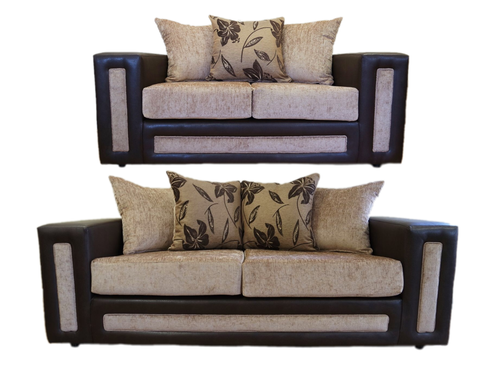 Calgary 3 Seater & 2 Seater Pillow Back Sofa Set