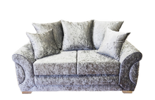 Load image into Gallery viewer, Colorado Glitz Crushed Velvet 2 Seater Pillow Back Sofa
