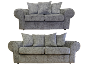 Strand Chenille 3 Seater & 2 Seater Sofa Set