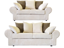 Load image into Gallery viewer, Strand Jumbo 3 Seater & 2 Seater Sofa Set