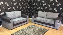 Load image into Gallery viewer, Turin 3 Seater & 2 Seater Formal Back Sofa Set