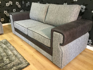 Turin 3 Seater & 2 Seater Formal Back Sofa Set