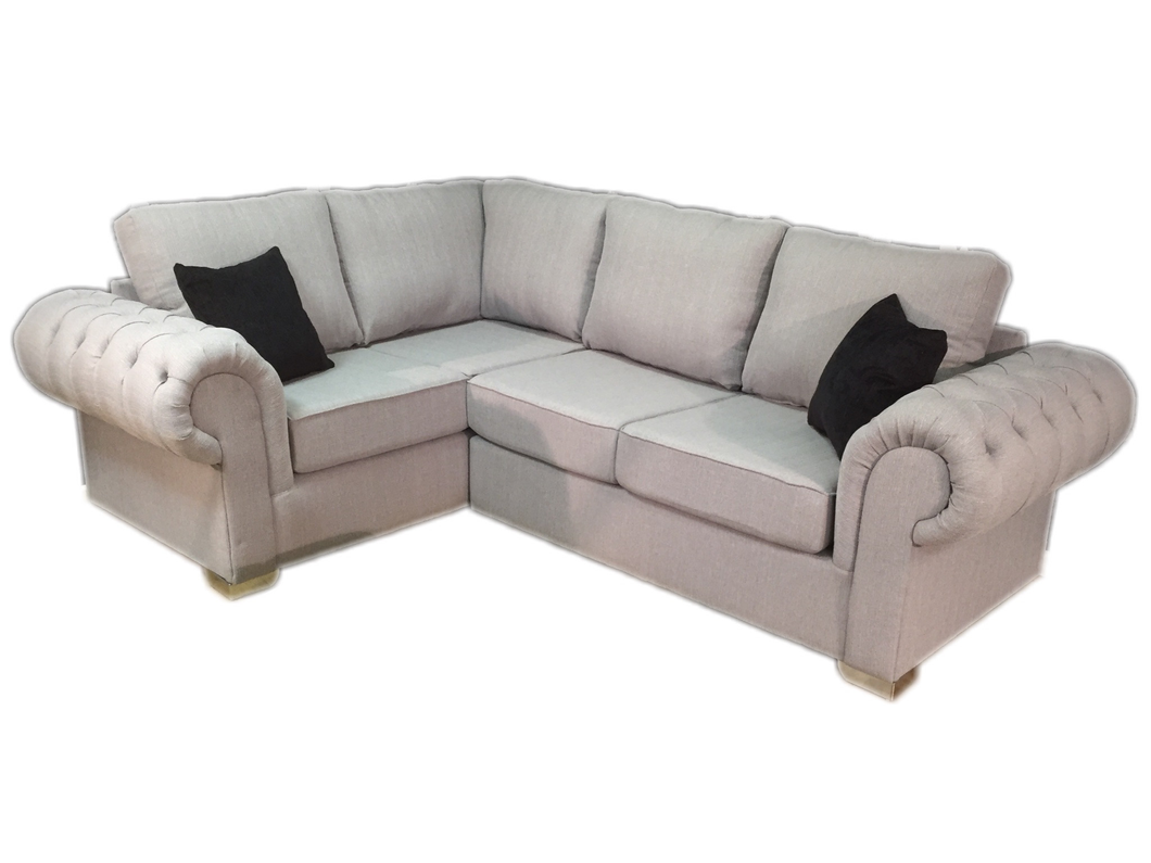 St Andrews (Stallion) Left Hand Formal Back Corner Sofa
