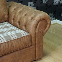Load image into Gallery viewer, St Andrews Luxury 3 Seater & 2 Seater Formal Back Sofa Set