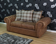 Load image into Gallery viewer, St Andrews Luxury Swivel Chair & 2 Seater Pillow Back Sofa Set