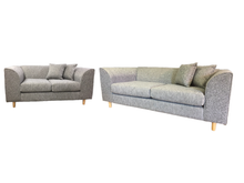 Load image into Gallery viewer, Mika 3 Seater & 2 Seater Sofa Set