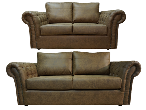 Chester 3 Seater & 2 Seater Formal Back Sofa Set