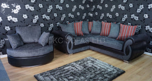 Chloe Corner & Swivel Chair Special Offer