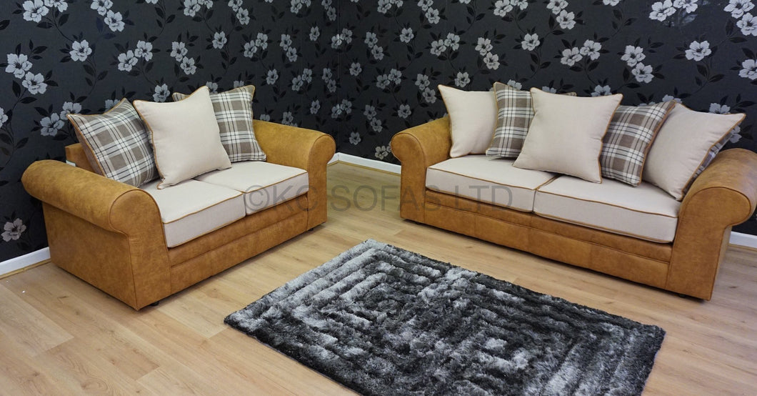 Loch Lomond 3 Seater & 2 Seater Sofa Set