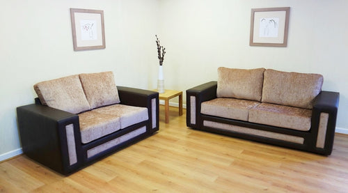 Calgary 3 Seater & 2 Seater Formal Back Sofa Set