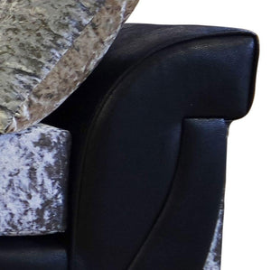 Lush Glitz Crushed Velvet Right Hand Corner Sofa