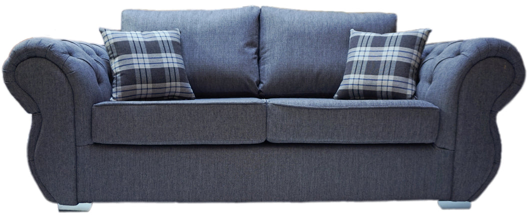 Rio 3 Seater Formal Back Sofa