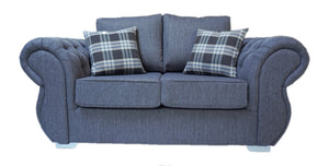 Rio 2 Seater Formal Back Sofa